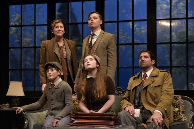 "The cast of ""Watch on the Rhine"" at Berkeley Rep (Kevin Berne)--"