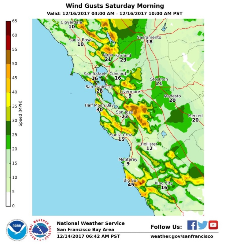 Bay Area forecast Elevated fire danger this weekend with arrival of