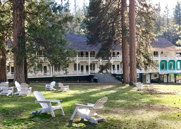 The same branding issues that changed Yosemite's Ahwahnee to the MajesticYosemite Hotel have changed the historic Wawona's name to the Big Trees Lodge. (Jackie Burrell/Bay Area News Group)