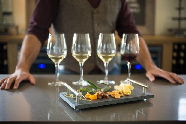 Enjoy chardonnay, viognier and other wines when you do a tasting at Napa'sLiana Estates. (Courtesy Liana Estates)