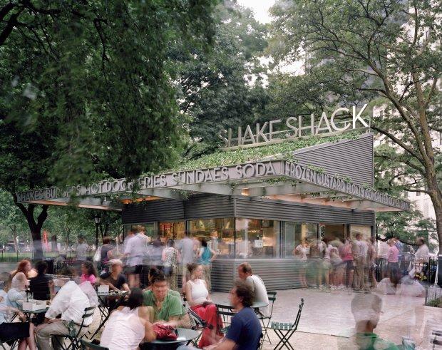 The Shake Shack at Madison Square Park in New York City. (Photo courtesy ofShake Shack)