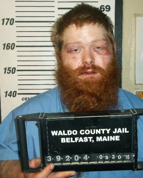 Brian Fogg. (Waldo County Jail via AP)
