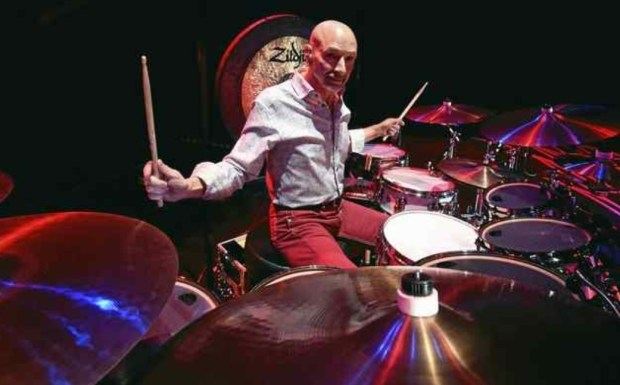 Steve Smith drums for Journey as well as his own jazz group, Vital Information. (Photo by Mike Corrado)