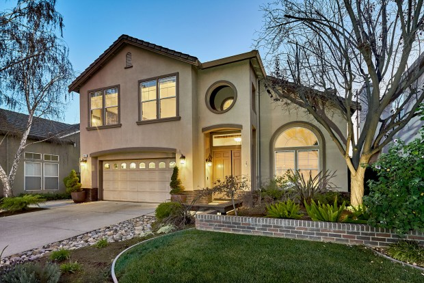 This updated four-bedroom home is nestled in the Old Almaden Winery neighborhood.