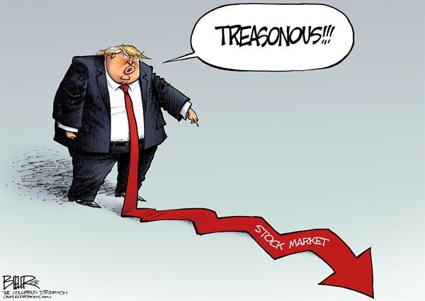 the treasonous stock market