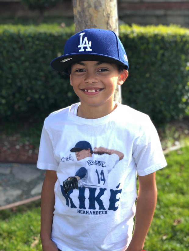 Much to the chagrin of one of the Giants' all-time greats, Coco Cepeda willwear a Dodgers uniform for his Pleasant Hill youth league baseball team. Orlando Cepeda's grandson vows to wear a little bit of Giants orange hidden somewhere on his uniform.