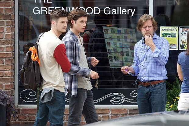 Grant Gustin, Nick Robinson and William H. Macy star in 'Krystal,' the opening night movie for Cinequest 2018.