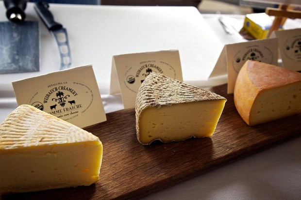 California's annual Artisan Cheese Festival. (Derrick Story)