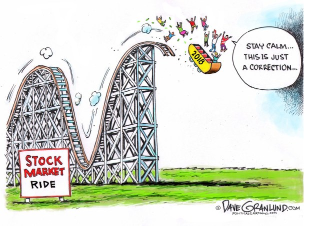 cartoons stock market on