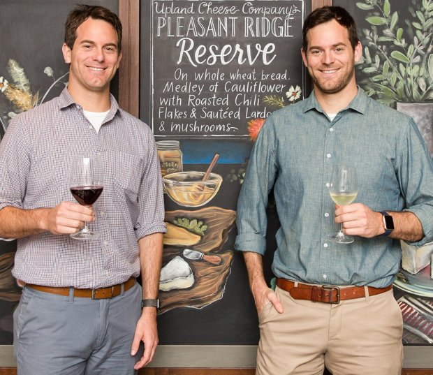 The self-styled Cheese Twins and Food Network celebs Charlie and MichaelKalish will be leading a seminar at the California Artisan Cheese Festival in March. (Courtesy CACF)