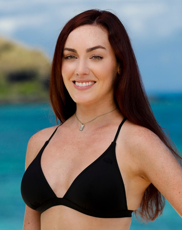 Chelsea Townsend will be competing on 'Survivor: Ghost Island.' (Robert Voets/CBS)