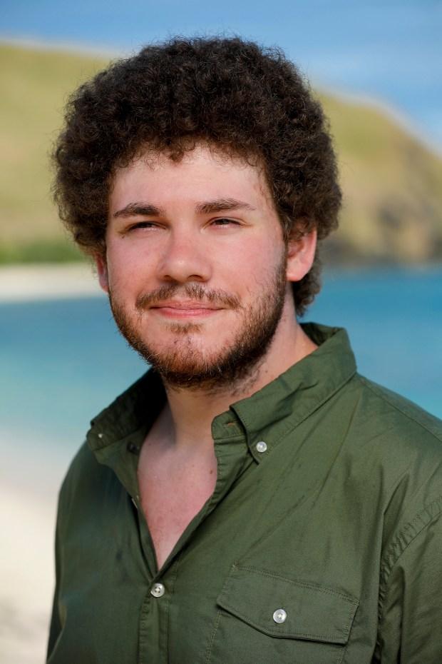 Jacob Derwin will be competing on 'Survivor: Ghost Island.' (Robert Voets/CBS)