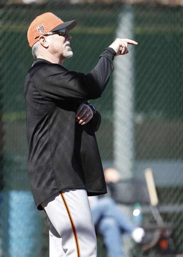 Rick Schu, the new Giants assistant hitting coach, hit home runs against CyYoung Award winners such as Dwight Gooden, Randy Johnson and Vida Blue. (Photo courtesy: San Francisco Giants)