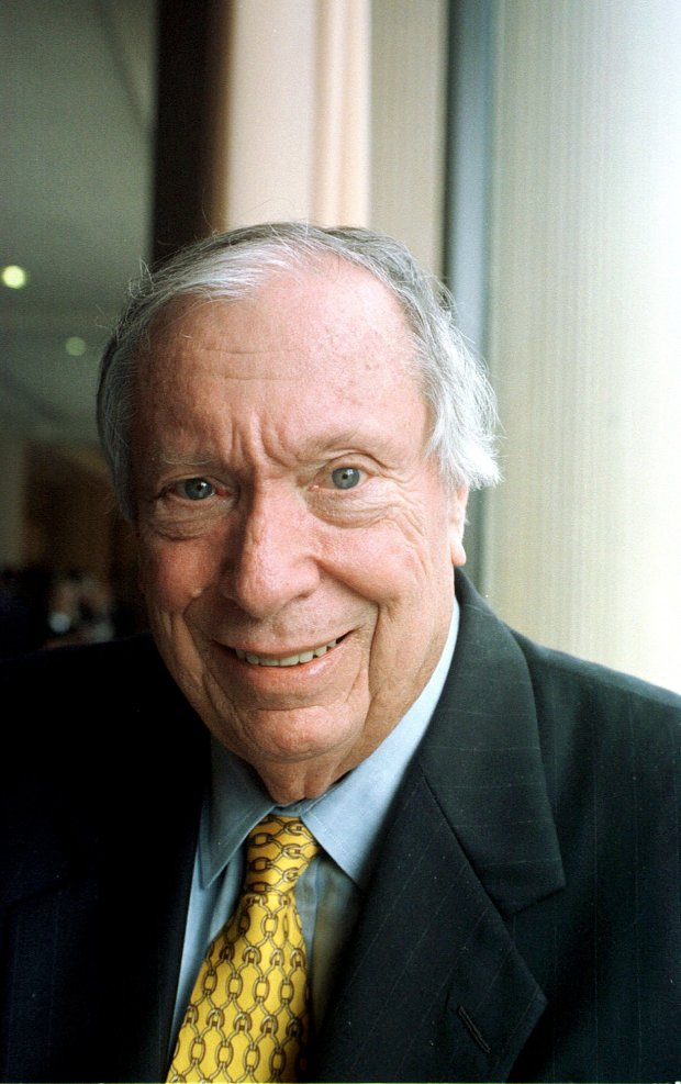 """** FILE ** Circuit Judge Stephen Reinhardt, a Carter appointee, is shown in a file photo from Sept. 21, 2000, in San Francisco. Reinhardt and a fellow 9th Circuit Court of Appeals judge stunned politicians on both the left and right Wednesday, June 26, 2002, in declaring for the first time that reciting the Pledge of Allegiance in public schools is unconstitutional because of the words """"under God"""" inserted by Congress in 1954. The ruling was issued by Circuit Judge Alfred T. Goodwin, who was appointed by President Nixon, and Reinhardt. (AP Photo/The Recorder, Jason Doiy, File)"""