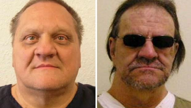 Paul Kenneth Jenkins, Freddie Joe Lawrence. (Montana Department of Corrections via AP)