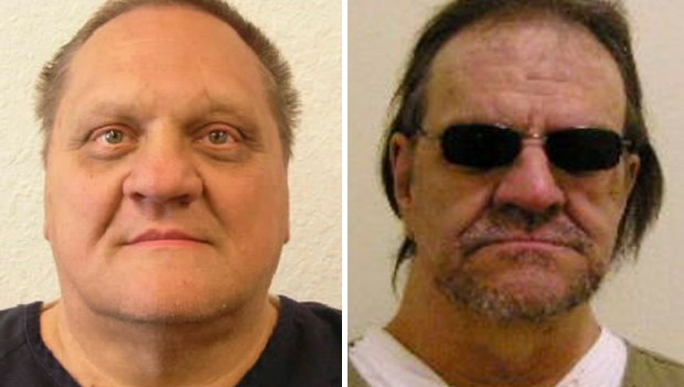 Paul Kenneth Jenkins, Freddie Joe Lawrence. (Montana Department of Corrections via AP)