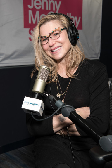 NEW YORK, NY - MARCH 28: Tatum O'Neal visits SiriusXM Studios on March 28, 2018 in New York City. (Photo by Dia Dipasupil/Getty Images)