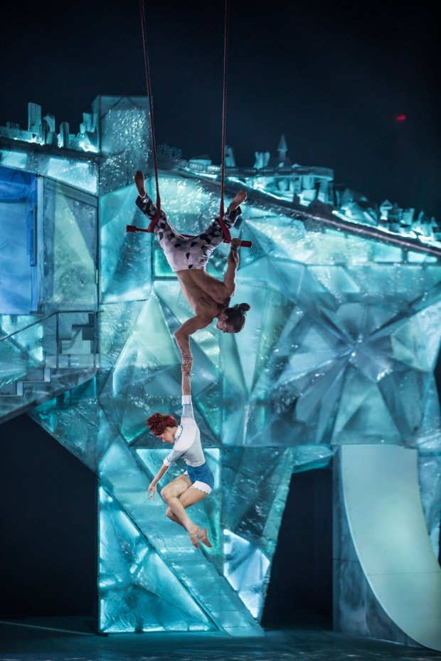"Cirque du Soleil's ""Crystal"" in San Jose (Matt Beard)"