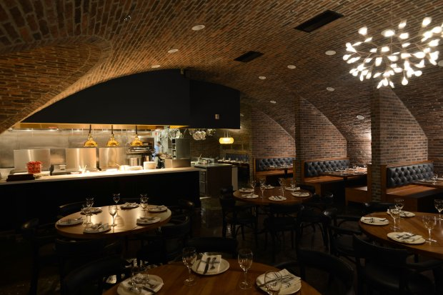 With its brick arches and moody atmosphere, Sacramento's Empress Tavernmakes a striking spot for dining. (Courtesy Ryan Donahue)