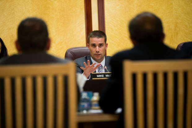 """State Sen. Mike McGuire, D-Healdsburg, who authored the 2016 law, SB 1174, allowing the Medical Board to monitor foster youth prescriptions. He said he plans to """"sit down with the medical board staff to start developing solutions to this current challenge."""" (Dai Sugano/Bay Area News Group archive from 2015)"""
