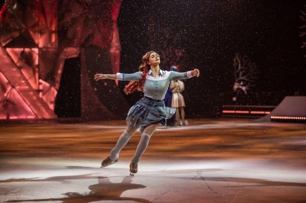 """MATT BEARD/CIRQUE DU SOLEILMadeline Stammen stars in Cirque du Soleil's """"Crystal."""""""