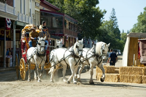 Every Labor Day weekend, Old Sacramento's Gold Rush Days turn back timewith wagon rides, Pony Express re-creations, gunfights and interactions with living history characters.