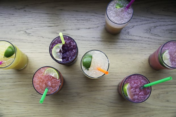Rachel's Ginger Beer in Pike Place Market specializes in a dozen flavors ofzippy house-made ginger beer, including cucumber tarragon, white peach and blood orange. (Photo: Courtesy of Rachel's Ginger Beer)