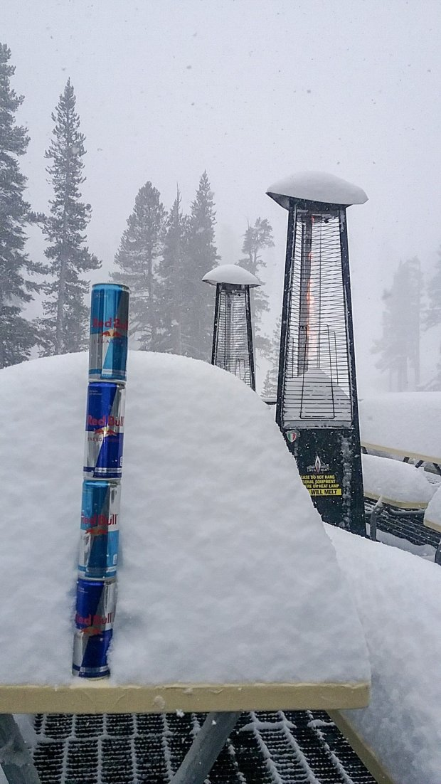 Ski resorts in the Lake Tahoe area received 2 to 4 feet of snow betweenWednesday Feb. 28, 2018 and Friday morning March 2. Heavenly was no exception. (Photo: Heavenly Ski Resort)