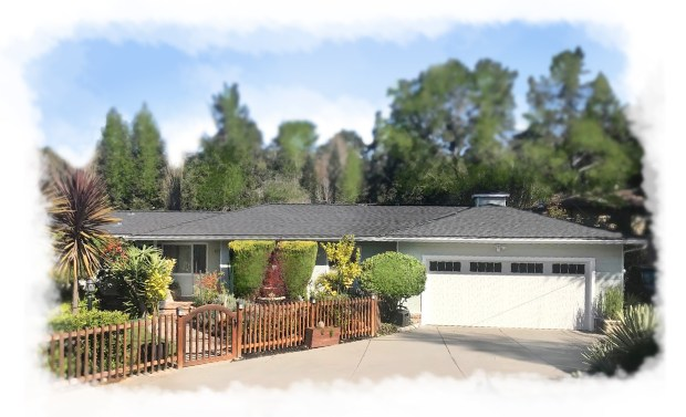 This Mid-Century gem is updated but retains its serene ambience in the hills above Oakland.
