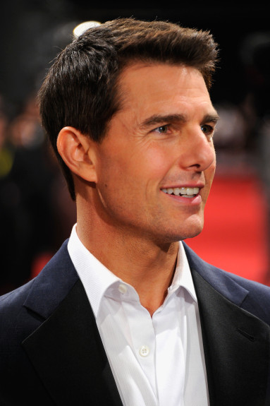 "Actor Tom Cruise attends the ""Mission: Impossible - Ghost Protocol"" Premiere during day one of the 8th Annual Dubai International Film Festival held at the Madinat Jumeriah Complex on December 7, 2011 in Dubai, United Arab Emirates. (Photo by Andrew H. Walker/Getty Images for DIFF)"