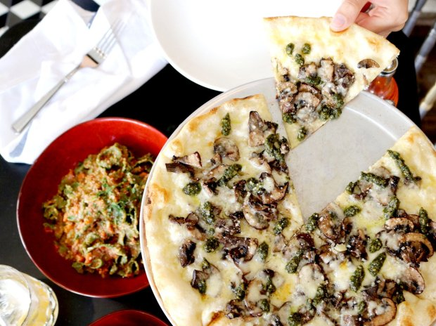 Pizza and housemade pasta are the stars at Tratto, a trattoriaconveniently located inside The Marker Hotel on Geary Street in San Francisco. (Photo courtesy of Tratto).