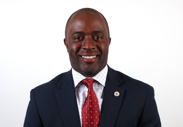State Superintendent of Public Instruction candidate Tony Thurmond is photographed on Monday, April 23, 2018, in Walnut Creek, Calif. (Aric Crabb/Bay Area News Group)
