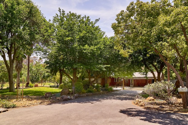 This Santa Clara County property comes with The property also includes two water wells but offers access to Almaden schools and Silicon Valley.