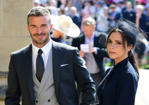 Victoria Beckhams Sour Look At Royal Wedding Questioned