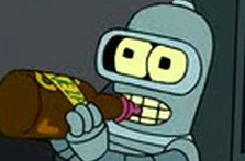 "Baby Bender, from ""Futurama."""