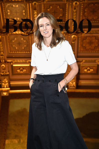 Clare Waight Keller attends the #BoF500 Cocktail Event as part of the Paris Fashion Week Womenswear Spring/Summer 2017 at Hotel de Ville on October 4, 2016 in Paris, France. (Photo by Jacopo Raule/Getty Images for The Business Of Fashion)