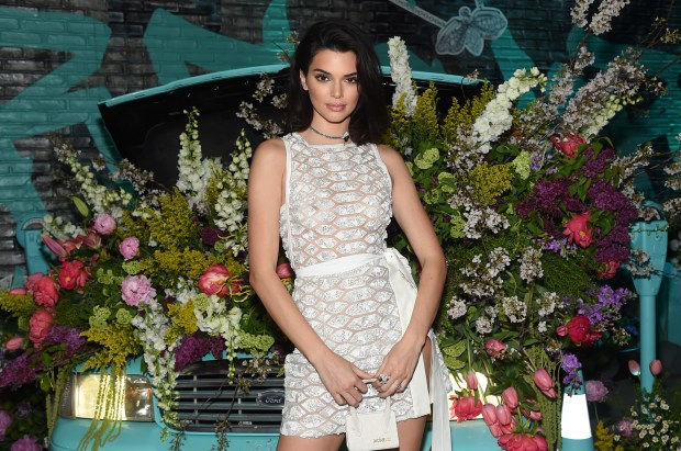 NEW YORK, NY - MAY 03: Kendall Jenner attends the Tiffany & Co. Paper Flowers event and Believe In Dreams campaign launch on May 3, 2018 in New York City. (Photo by Jamie McCarthy/Getty Images for Tiffany & Co.)