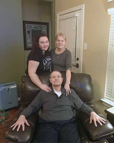 "This photo provided by Eric Sanders shows Texas shooting victim Cynthia Tisdale, top right, with her husband Recicie Tisdale, center and niece Olinde, left. Cynthia Tisdale, a substitute teacher who relatives say had a ""lust for life"" is among the first confirmed victims of Friday's mass shooting at a Texas high school."