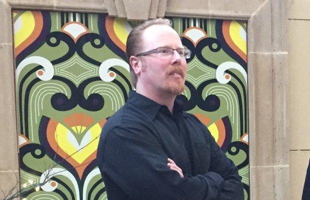 San Jose Public Art Director Michael Ogilvie. (Sal Pizarro/Bay Area NewsGroup)