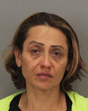 Angelica Rodriguez, 50, of Alviso, was arrested in connection with ahit-and-run collision on Duane Avenue near Kenneth Street in Santa Clara on Tuesday. One person was hospitalized in critical condition. (Courtesy of the Santa Clara Police Department)