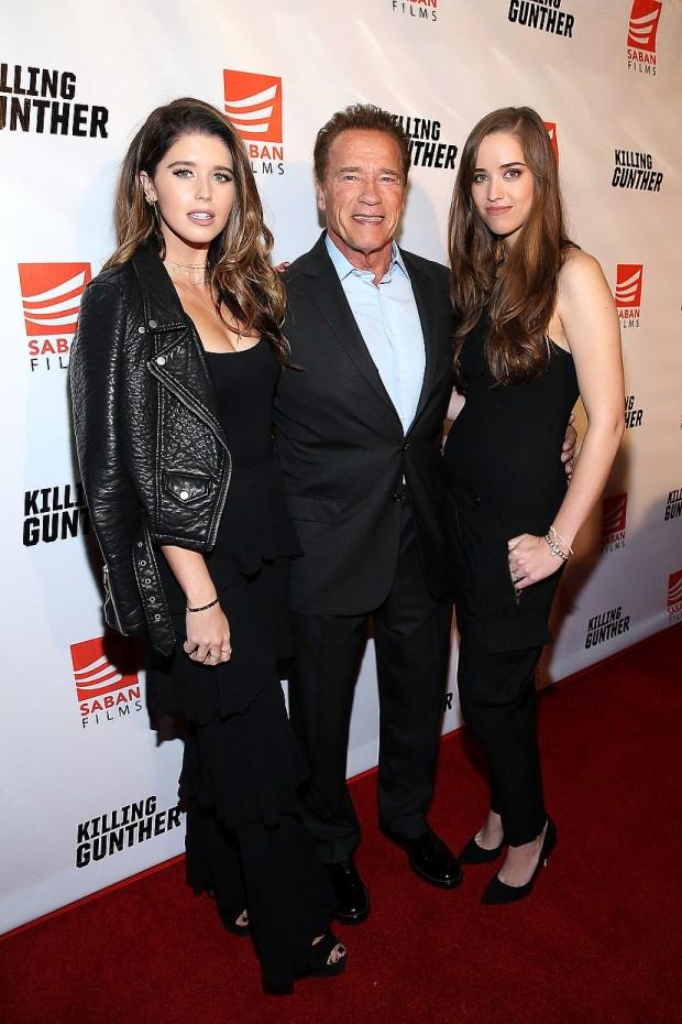Arnold Schwarzenegger, Maria Shriver enjoy pedicure date