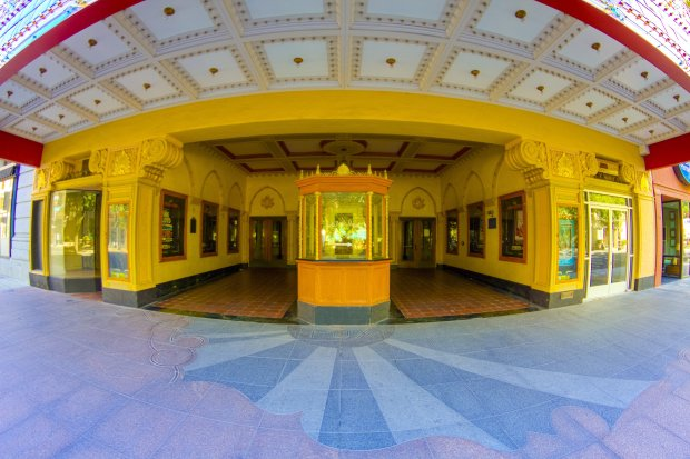 Stockton's Bob Hope Theatre was built in 1930. Today, this historiclandmark blends modern technology with architectural wonders and classy decor. (VisitStockton)