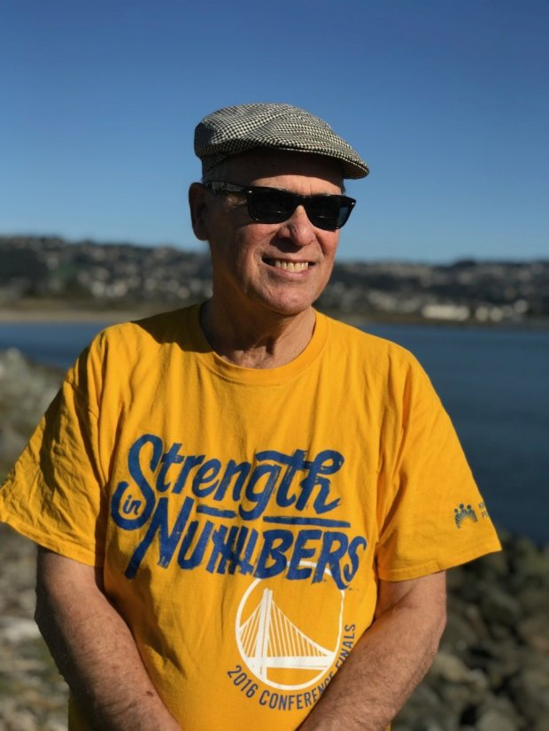 "Richard A. Walker, a retired UC Berkeley geography professor and author of""Pictures of a Gone City."" (Photo courtesy of Zia Walker-Chinoy)"