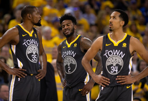 Golden State Warriors' Kevin Durant (35) ...