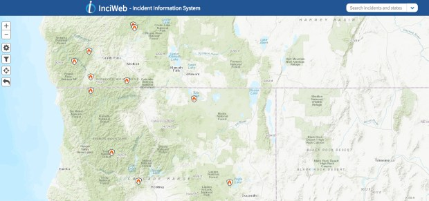 Cascade Locks Fire Map.How To Stay Safe When Hiking In Wildfire Backcountry