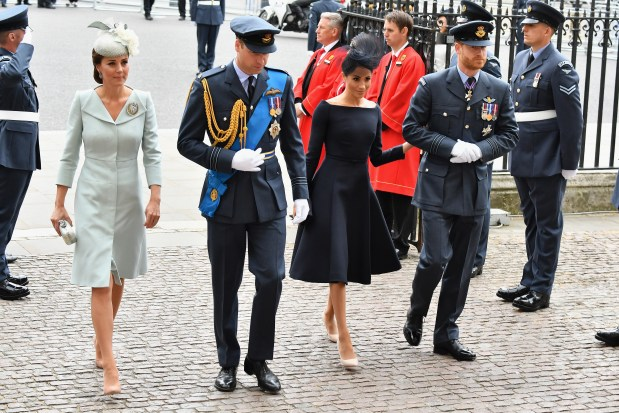 Did Meghan Markle come between Harry and William?