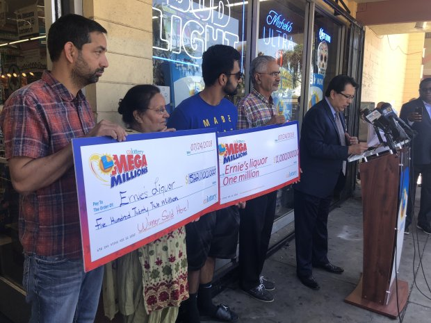 $543 million Mega Millions: San Jose liquor store abuzz over