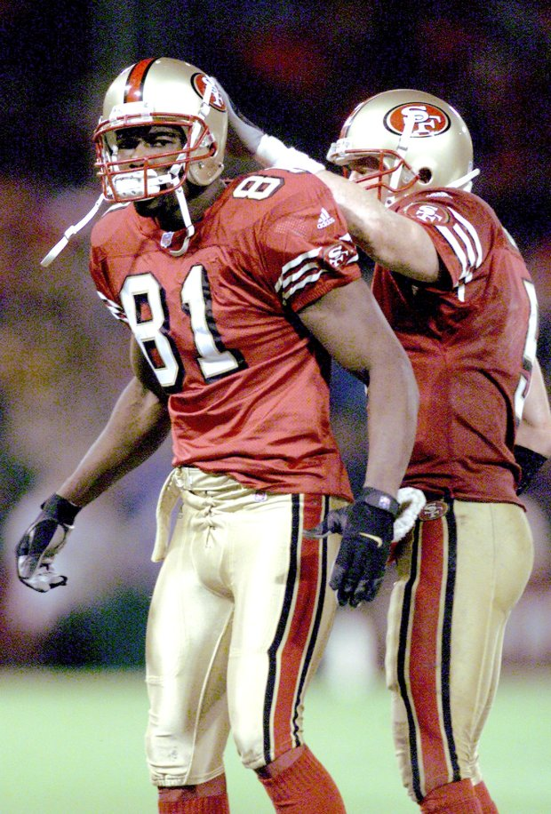 innovative design 60cab b4a8a Terrell Owens high on 49ers future with Jimmy Garoppolo