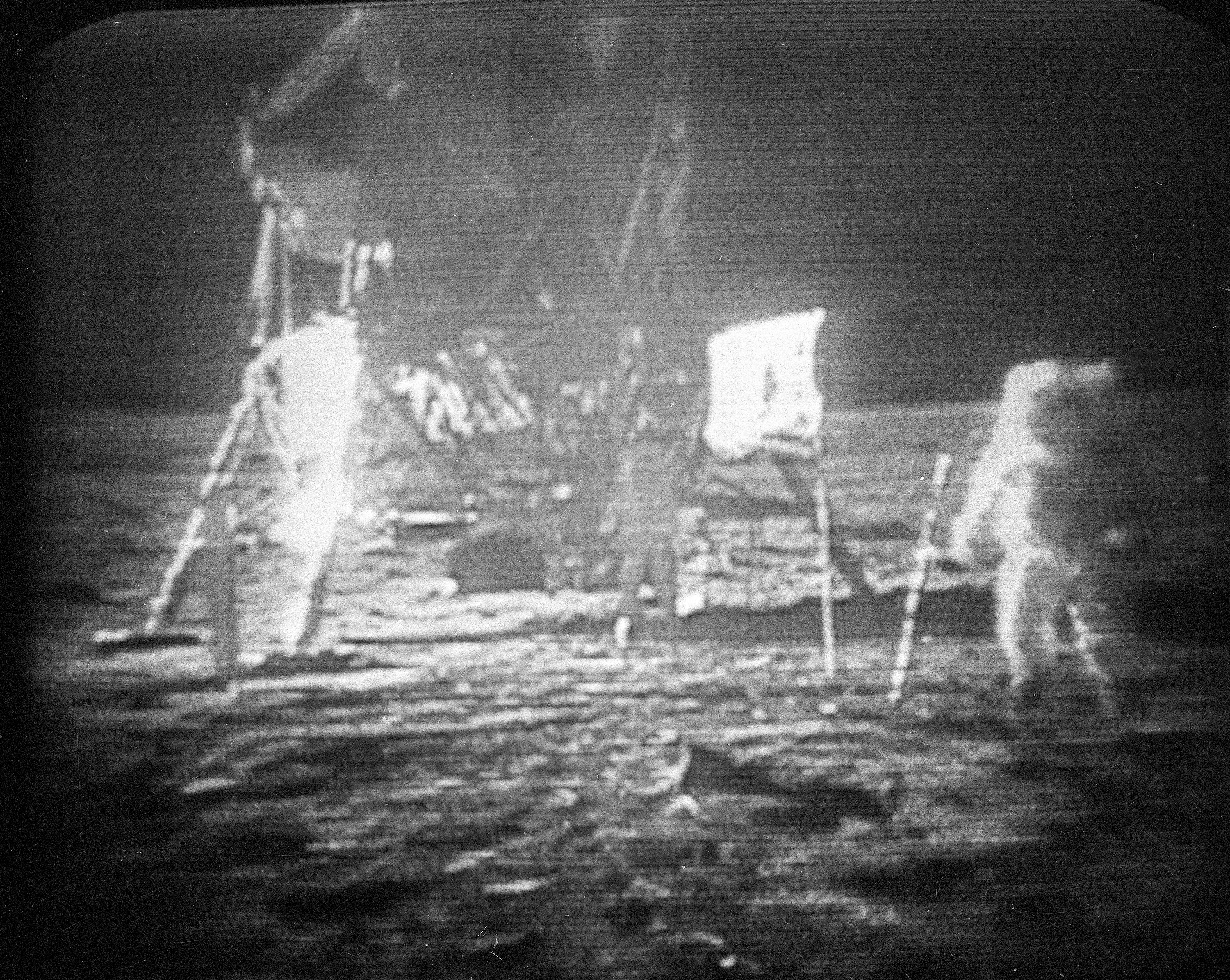 armstrong one wire jobs parts of a volcano diagram worksheets neil s sons u flag is in ryan gosling film file this july 20 1969 black and white photo taken from television monitor apollo 11 astronaut right trudging across the