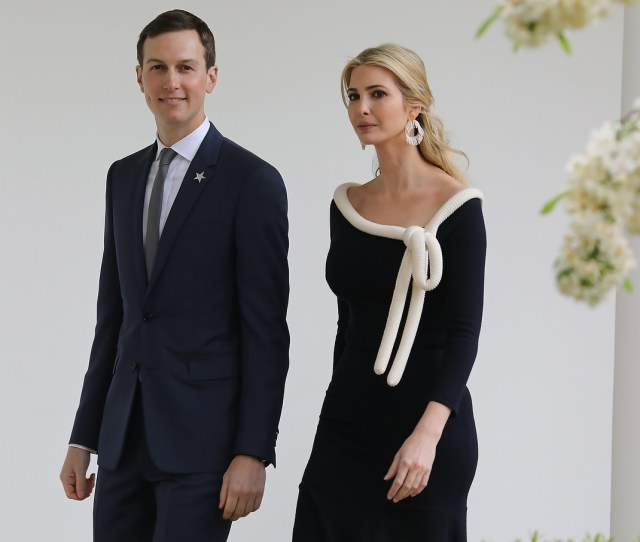 Report Ivanka Trump Jared Kushner Running The White House As Trumps Chief Of Staff Resigns